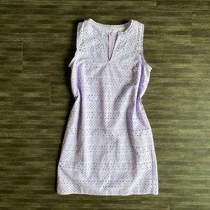 LOFT Lilac Petite Dress